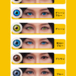 Examples of eye styles